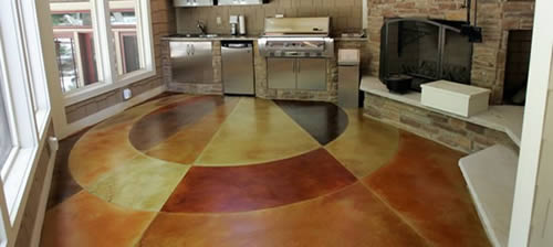 Stained Concrete Videos